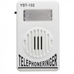 Sonnerie telephone flash amplificateur sonnette telephonie extension report telephonique YST-102