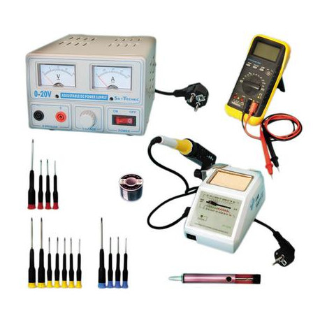 Pack after sales service electronic wiring soldering iron feeding - JR  international / Eclats Antivols