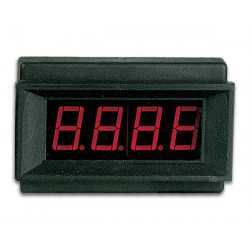 Digital panel meter led 9vdc