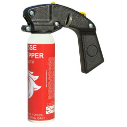 Defense spray anti aggression red pepper foam 100ml with incapacitating neutralizing handle