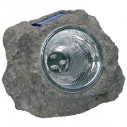 Led solar rock light plastic