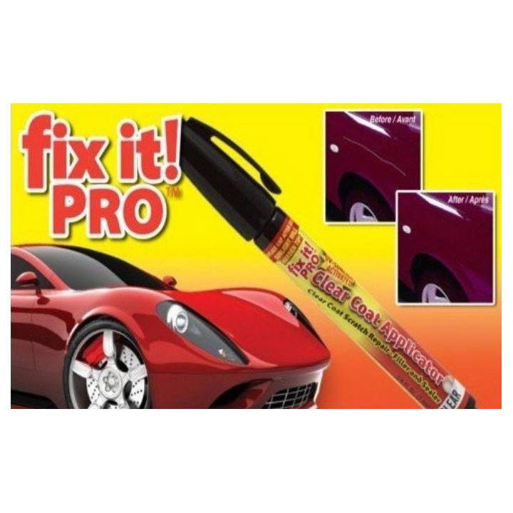 Es pro fixt pluma borra resistente a los arañazos de reparación de carrocerías de automóviles de renovación del acabado de pintu