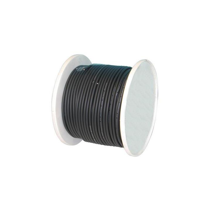 Schwarzes kabel 4mm fur camera panzert kabel 1c. 4mm 100m kabel fur camera mikrophon