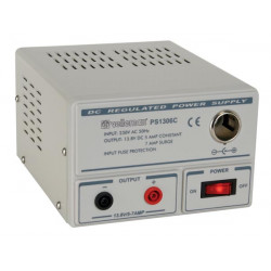 Fixed power supply 13.8v / 6a with car plug output