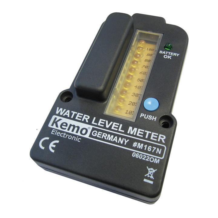 Indicateur mesure niveau eau m167n pour capteur puit citerne reservoir telemesure 100m