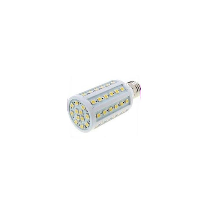 Ampoule 12w e27 220v 60 leds 5050 smd 360° blanc chaud 1050 lumen sz219