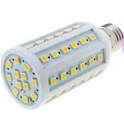 E27 220v 60 leds 5050 smd 12w led corn bulb lamp cold white