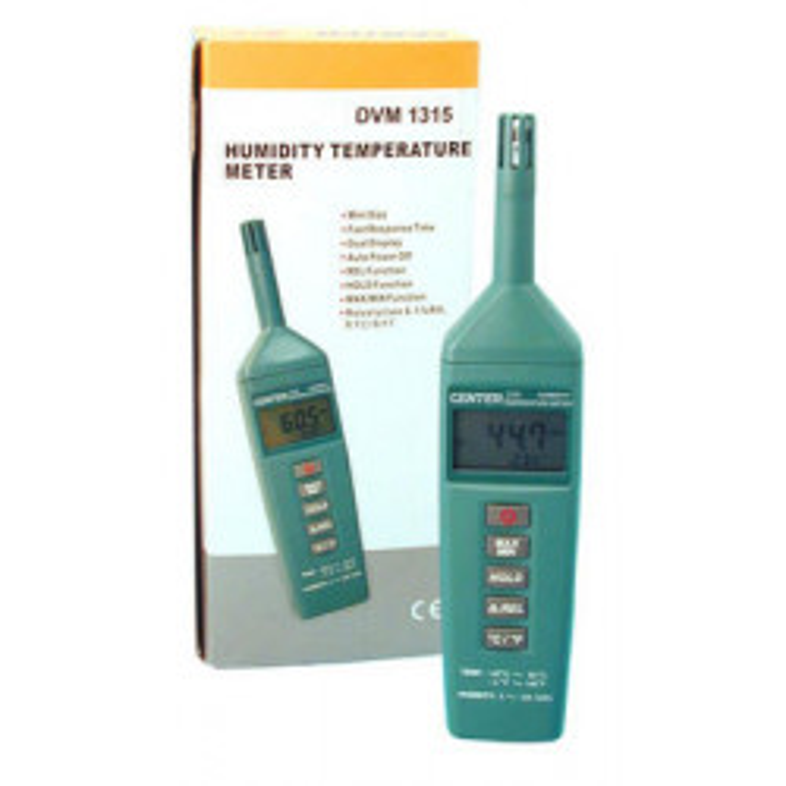Testeur humidite hygrometre temperature dvm1315 detecteur temperature electronique