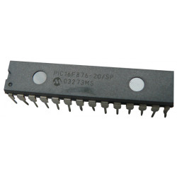 Microchip pic16f876-20/sp ic 8bit flash mcu 16f876 sdil28