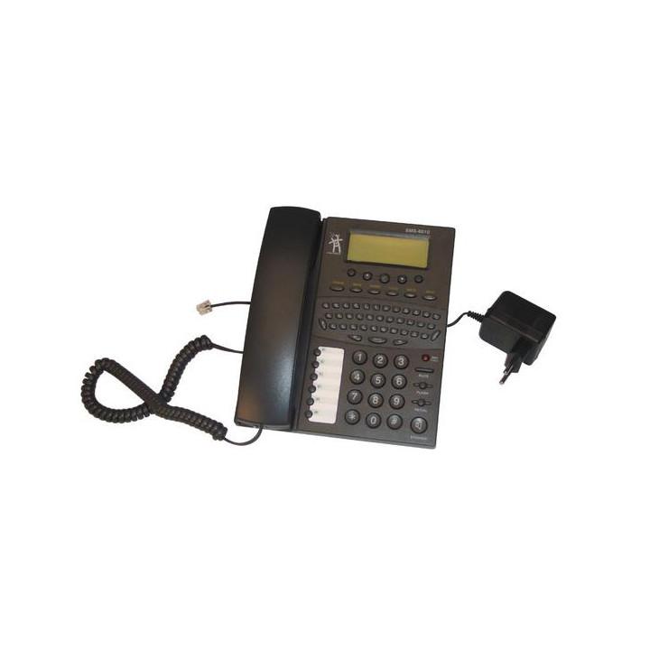 Telefono teclado qwerty por enviar y recibir sms via linea telefonica o gsm
