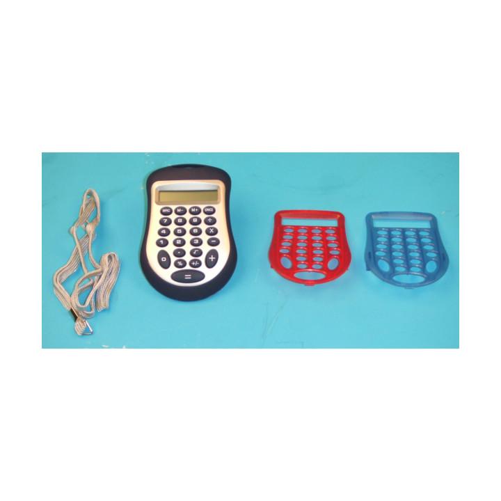 Calcolatore elettronico con display a 8 cifre ha due gusci di ricambio