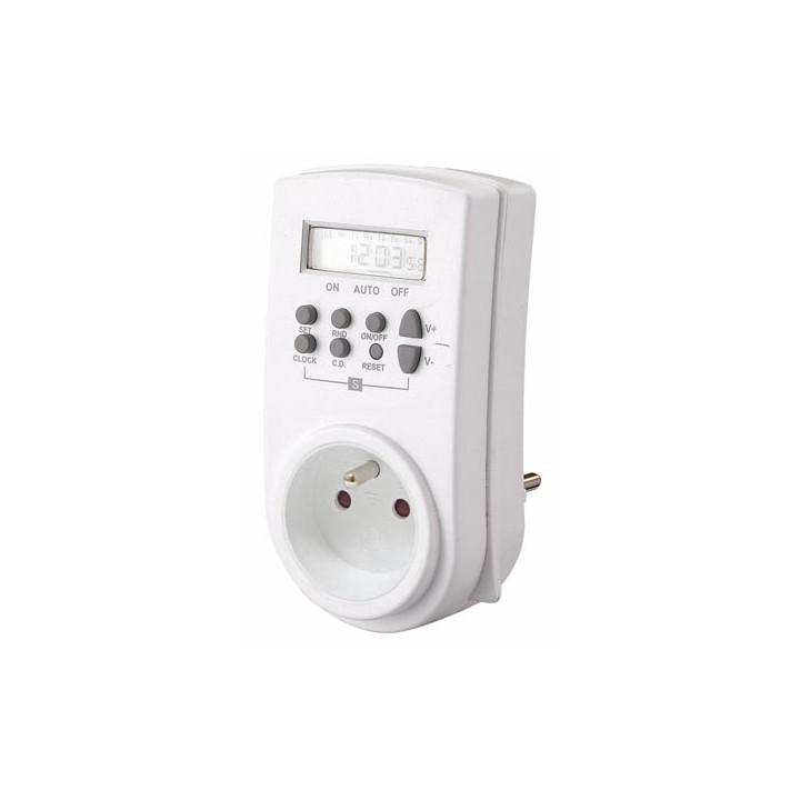 Weekly e305w 230v 3500w elektrischer timer timer timer 220 mal 10 programme