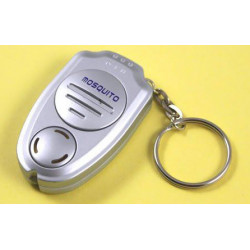 Ultrasonic anti mosquito repeller insect with keychain ring electronic machine repellent killer