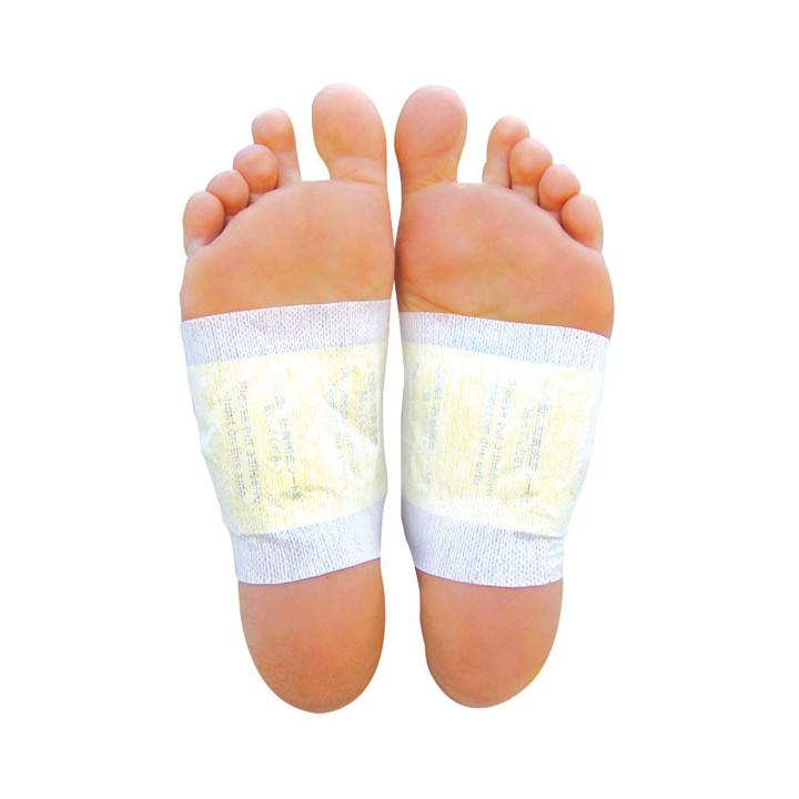Del pie del detox patch eliminación de toxinas mientras duerme mucho 10pcs de extractos naturales