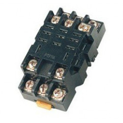 Unterstützt relay 11 pin din-schiene ptf11a omron 300v 10a ly3