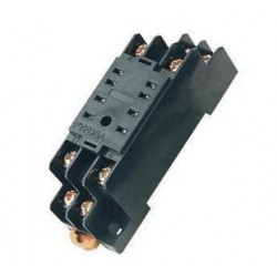 Relay socket pyf08a omron 8 pin din rail for my-2 my2nj hh52p h3y-2, st6p