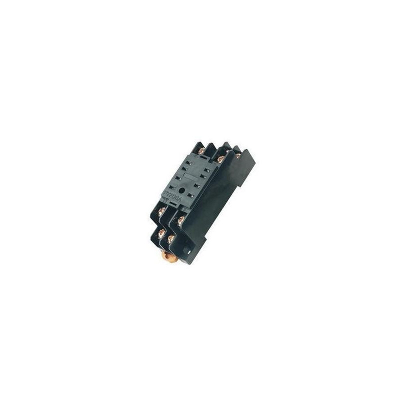Relay socket pyf08a omron 8 pin din rail for my-2 my2nj hh52p h3y-2 on rockwell 8 pin relay, square d 8 pin relay, dayton 8 pin relay, allen bradley 8 pin relay, idec 8 pin relay, potter brumfield 8 pin relay, 12 vdc 6 pin relay,