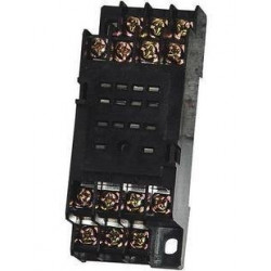 Relay socket pyf14a din rail for omron 14 pins hha54p my4 jqx-13f 4z 3a 300v 7a