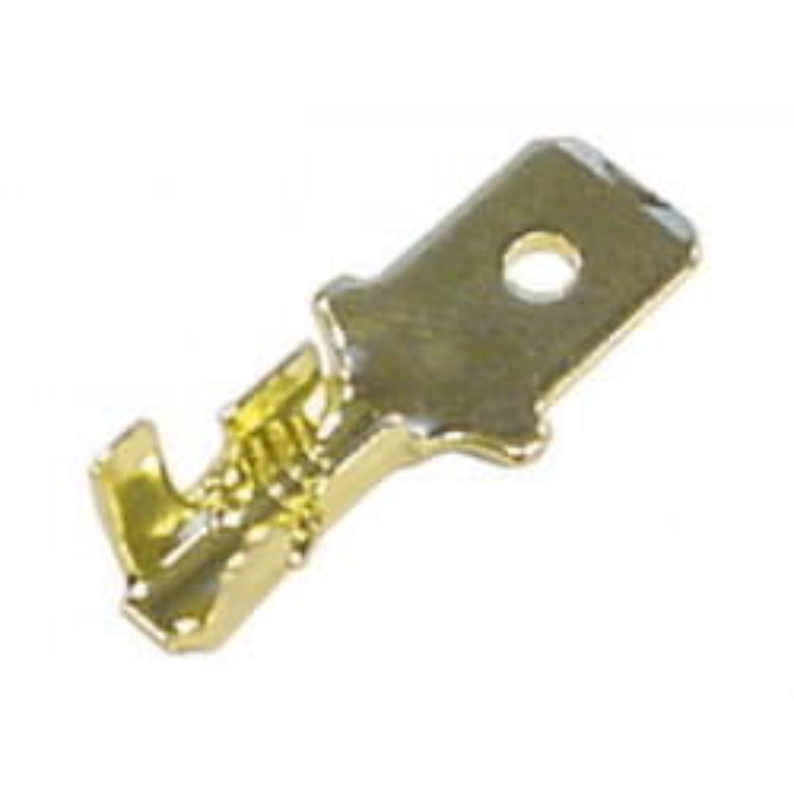 1 faston flachstecker 6.3 x 8mm fmg/100 /100