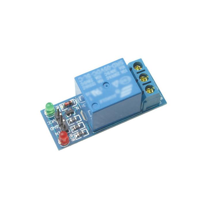 Module relais arduino 5v 1 canal 220v 10a domotique pic dsp bras avr arm mcu sg092-sz