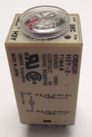 Delay timer dc 12v 0~60 second h3y-2 & base relay electric time