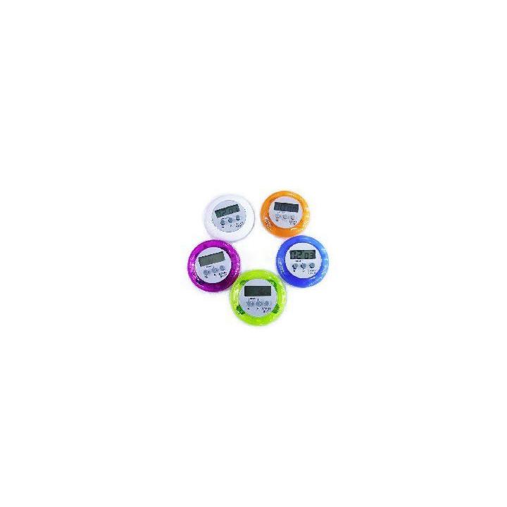 Temporizador de cuenta atrás (99 min. 59 seg.) con alarma