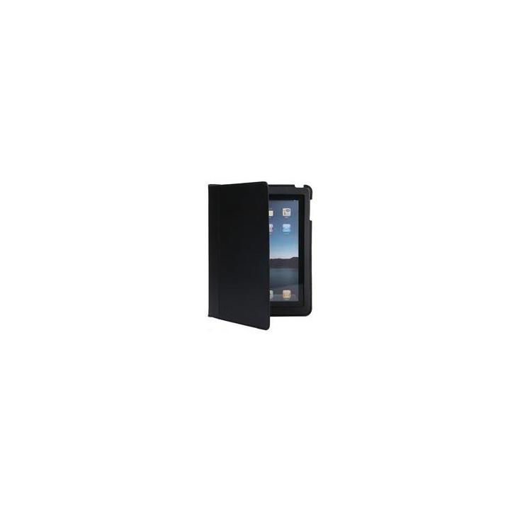 Schwarze ledertasche schützt apple ipad2 tablet ipad 2 slim schützende softcover