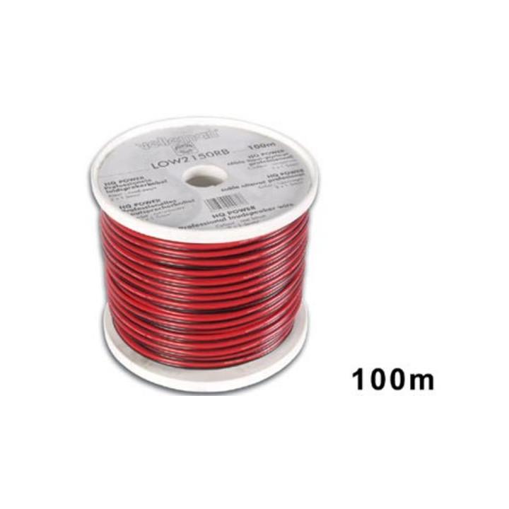 Sound speaker cable pa 2x1.5 sound speaker 2x1.5mm2 round 100m sound system