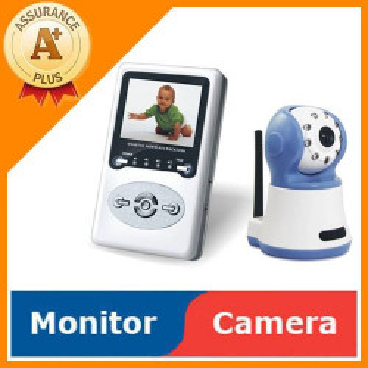 Camera video sans fil écoute bébé babyphone interphone surveillance audio 2.4ghz