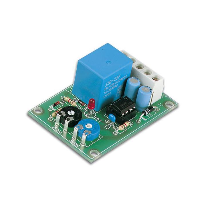 Module minuteur 12v intervalle à pulsation minuterie vm136 relais 3a 0.5 5s temporisation vm136