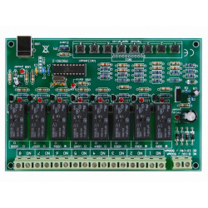 Carte 8 canaux vm8090 relais pilotés Iphone ipad prise usb ordinateur internet