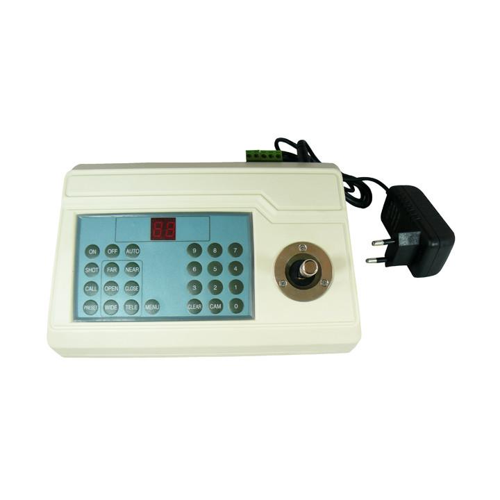 Rs485 2d cctv keyboard controller joystick dc 12v for security cctv ptz  motorized camera