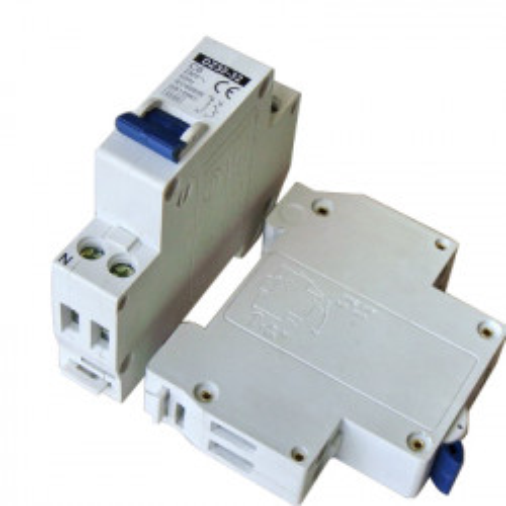 Disyuntor 2p 6a 230v electronico montaje en riel modular.