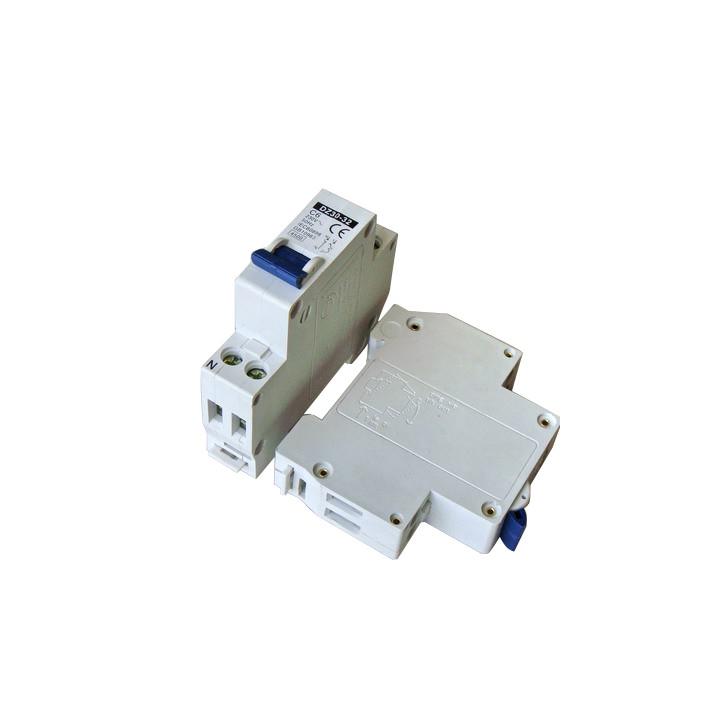 Dreipoliger unterbrecher 2p 6a 230v sicherheitstechnik elektronik elektrischer elektrische
