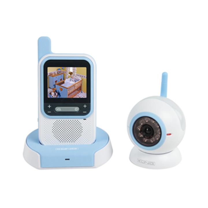 Moniteur video bébé camera sans fil könig hc-bm50 babyphone interphone