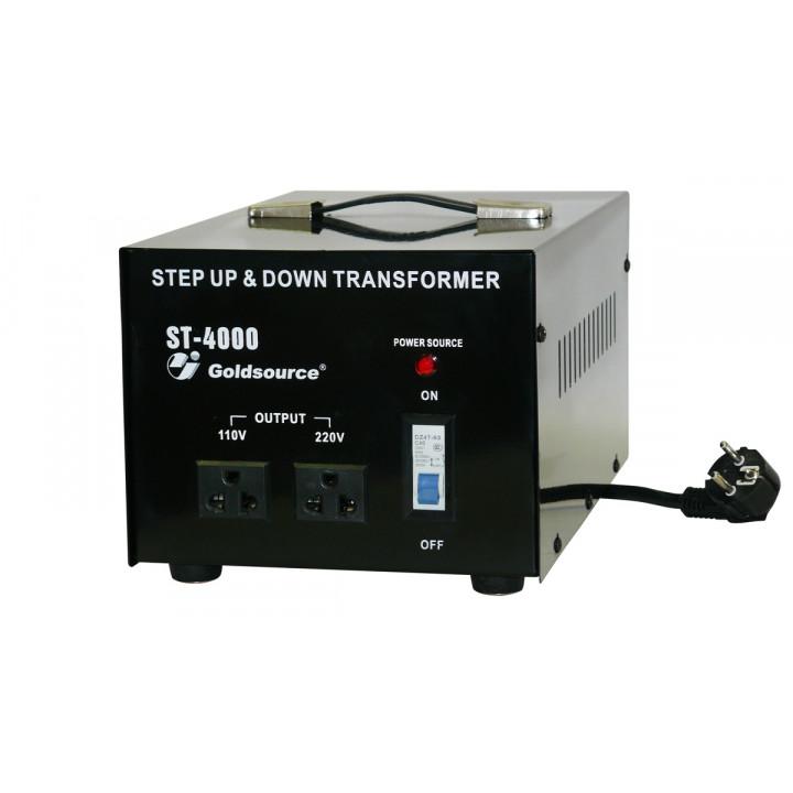 Convertisseur electrique 220/110vca 4kw 110v/220v 4000w reversible changeur 110 200 220v 240v st4000