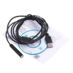 Usb endoscope ip66 waterproof inspection camera borescope 2m