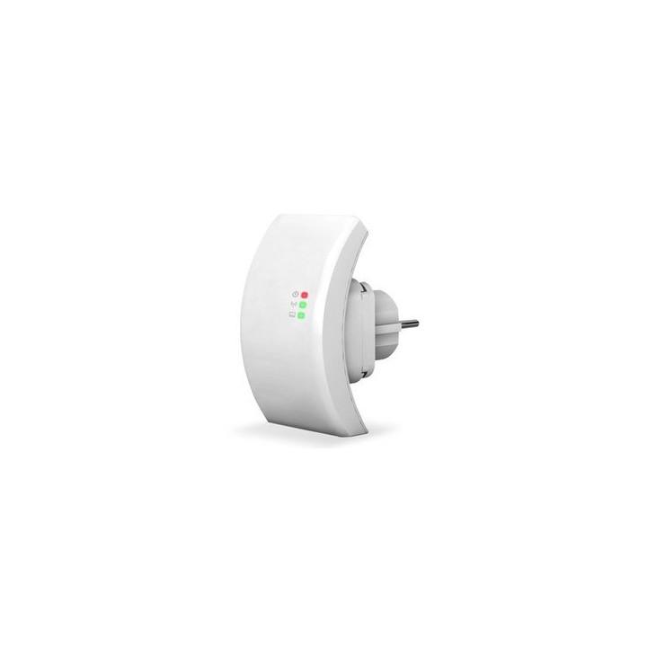 Wifi repeater 802.11n/b/g network router range expander 300m 2dbi antennas us/eu plug