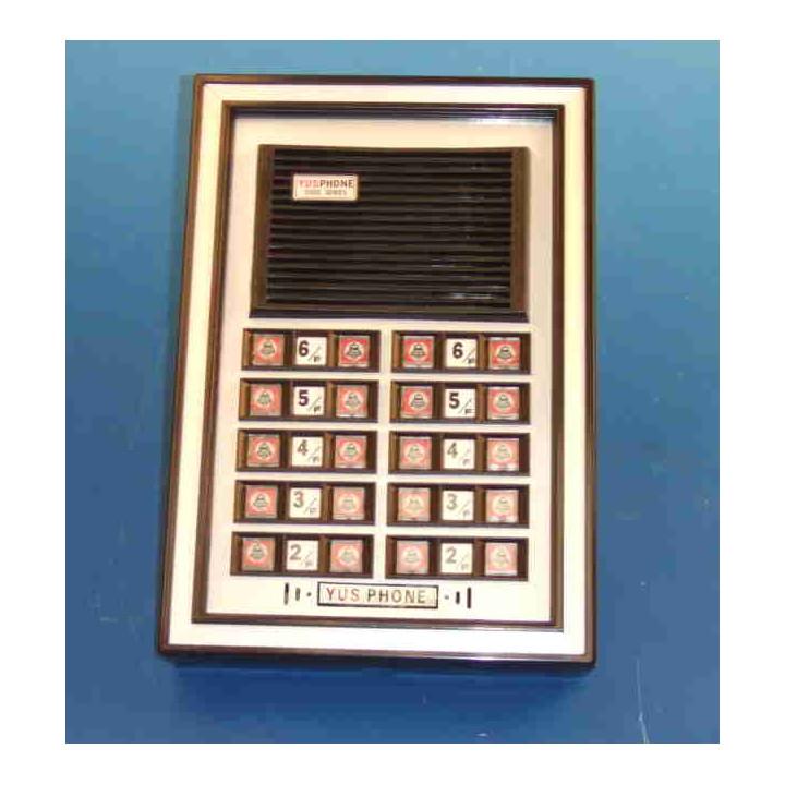 Intercom street intercom plate aluminium top plate with 20 buttons external intercom station intercom system audio intercom pane