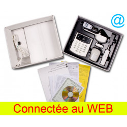Kit alarme sans fil jablotron pack jk-16 avec acces internet via module web