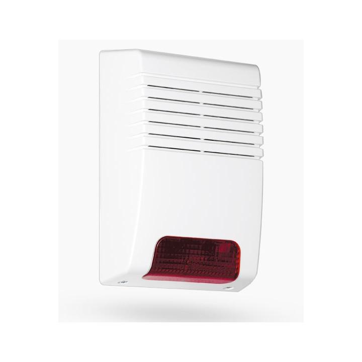 Sensor de apertura de contacto de alarma magnética detector contacto no crema proyección bs-2033a blanco