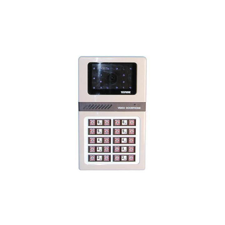 S w videotursprechanlage fur 20 wohnungen (kameraeinheit) elektronische tursprechanlage