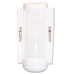 Outdoor indoor intrusion detector, combined double pir & microwave technology