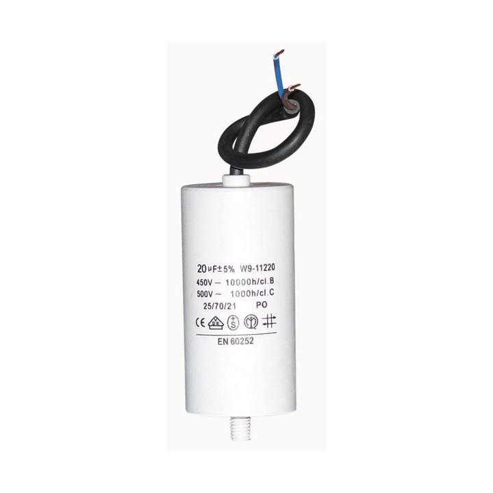 Condensador 20 micro farad 450v condensadores componentes electronicos condensadores electronicos 20 micro farad