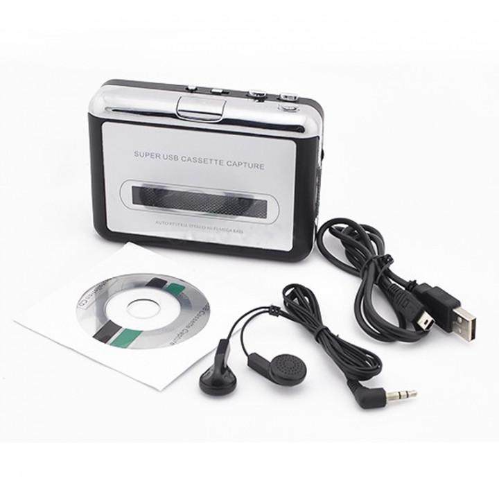 Mp3 usb convertitore cassette hav-ca10