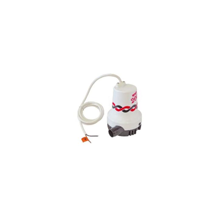 Bilge pump 12v vacuum cellar 8400l / h water intake elpm4453