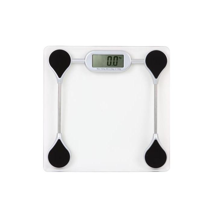 Digital scale tempered glass top 150kg 100g vtbal26