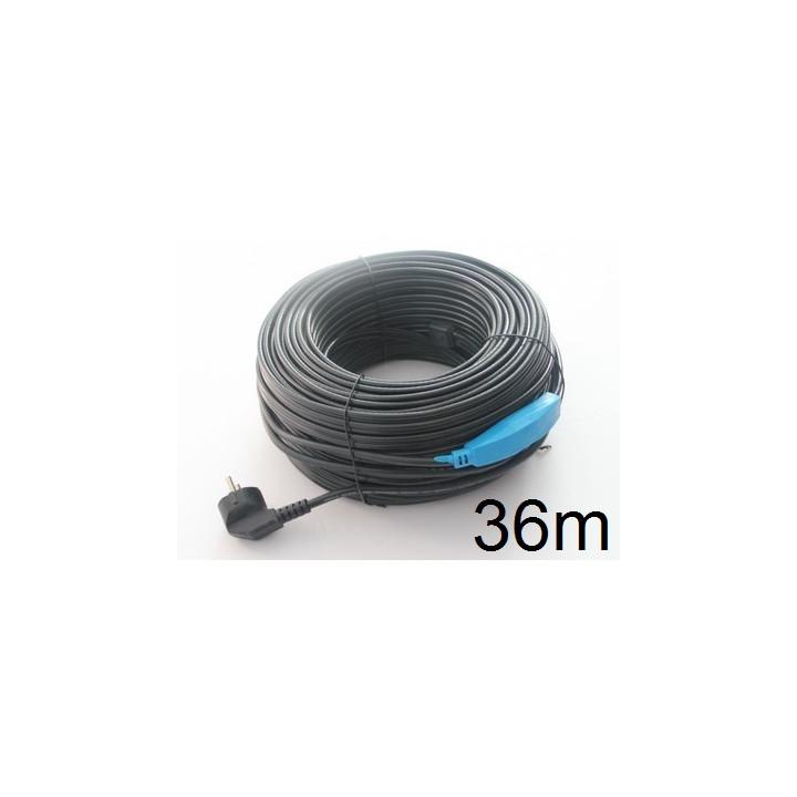 Frostschutz elektroheizung kabel 36m shpt-36m rohr mit wasserschlauch thermostat