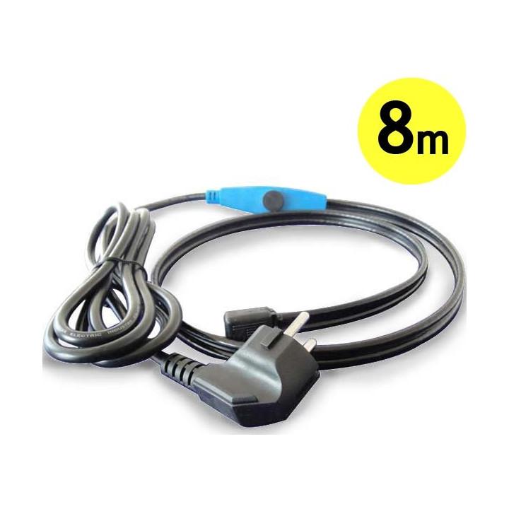 Frostschutz elektroheizung kabel 8m shpt-8m rohr mit wasserschlauch thermostat