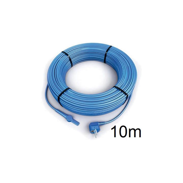 Frostschutz elektroheizung kabel 10 meter aquacable-10 rohr mit wasserschlauch thermostat